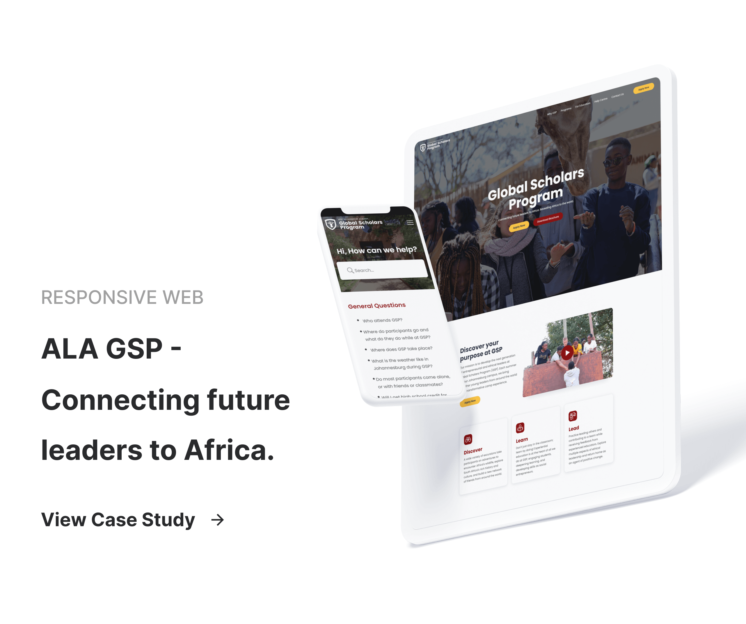 ALA GSP - Connecting future leaders to Africa.