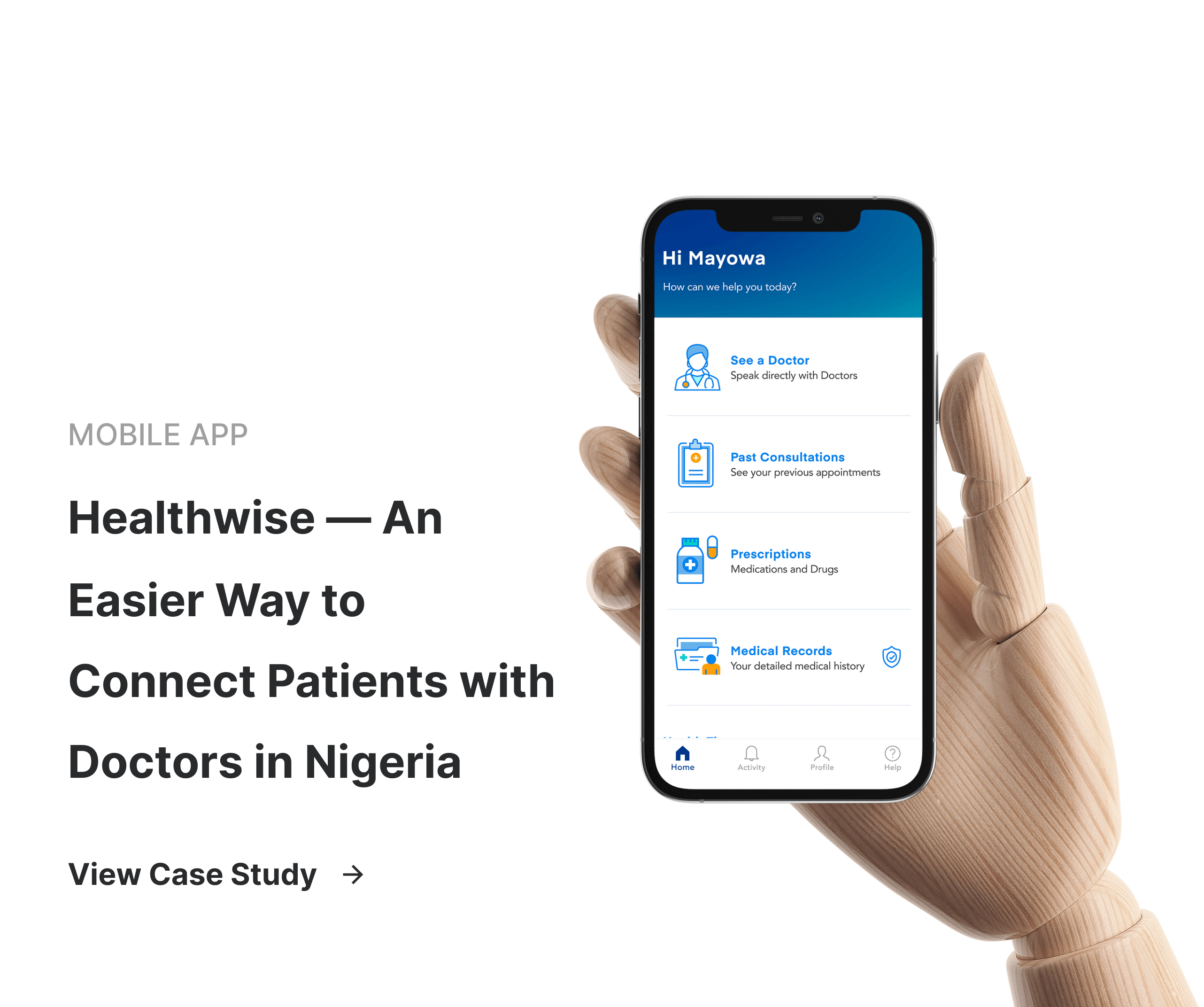 Healthwise — An Easier Way to Connect Patients with Doctors in Nigeria